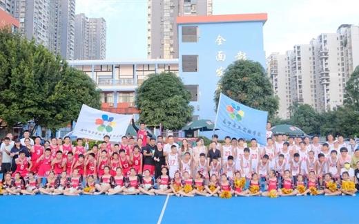 """2021首届""""卓立杯""""篮球联赛第五轮常规赛在主场半岛卓立小学举行"""